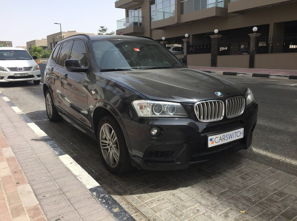 Used 2012 BMW X3 for sale in dubai
