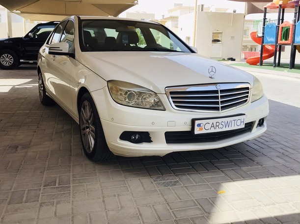 Used 2009 Mercedes C200 for sale in abudhabi