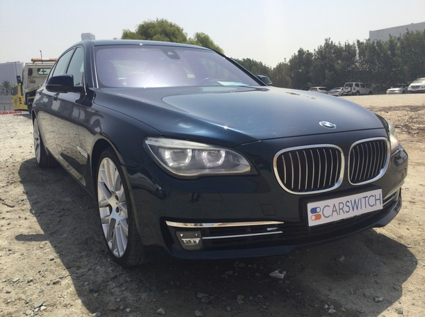 Used 2014 BMW 750 for sale in dubai