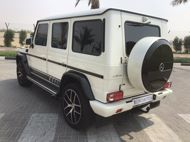 Used 2018 Mercedes G63 AMG for sale in dubai