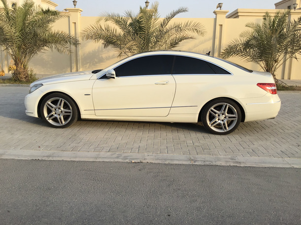 Used 2012 Mercedes E250 for sale in abudhabi