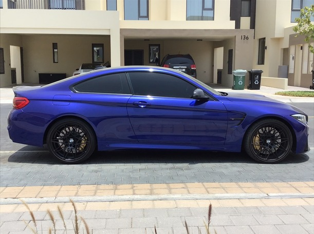 Used 2018 BMW M4 for sale in dubai