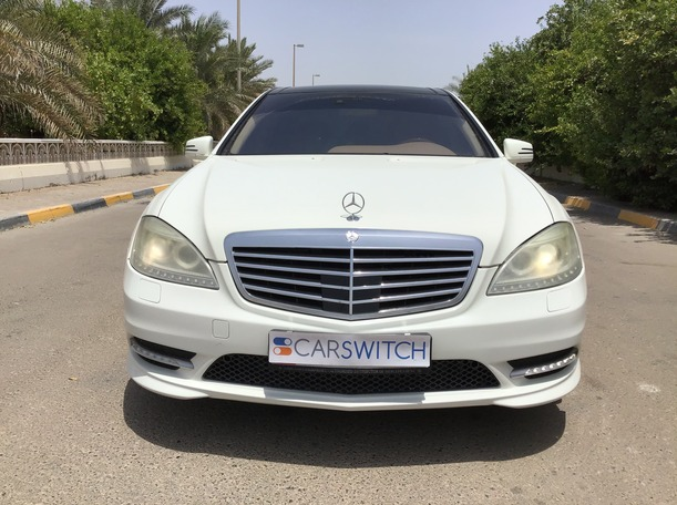 Used 2009 Mercedes S500 for sale in abudhabi