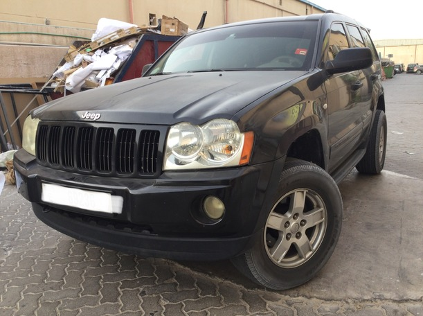 Used 2007 Jeep Cherokee for sale in dubai