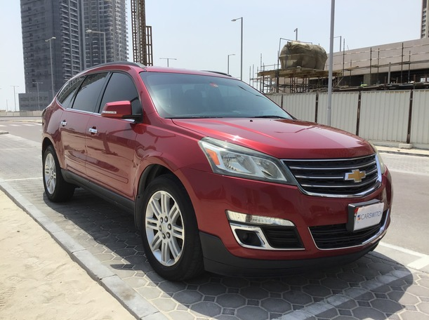 Used 2013 Chevrolet Traverse for sale in abudhabi