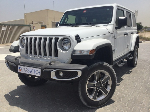 Used 2019 Jeep Wrangler for sale in sharjah