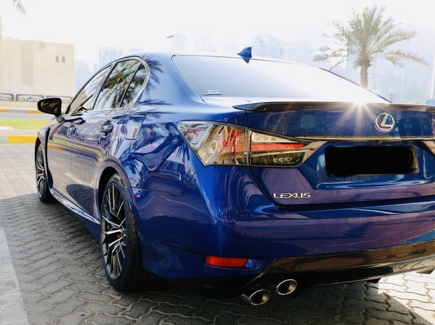 Used 2017 Lexus GSF for sale in abudhabi