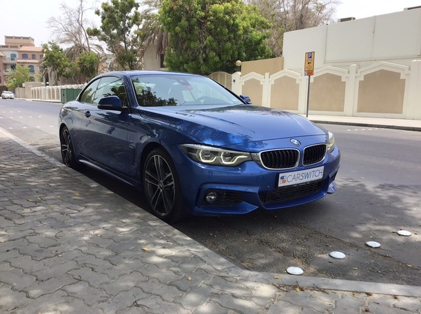 Used 2018 BMW 440 for sale in dubai