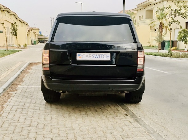 Used 2016 Range Rover HSE for sale in abudhabi