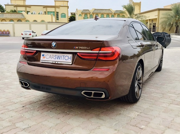 Used 2019 BMW 760 for sale in abudhabi
