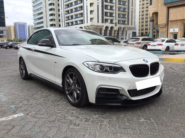Used 2016 BMW M235 for sale in abudhabi