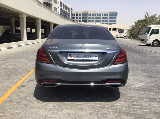 Used 2018 Mercedes S450 for sale in dubai