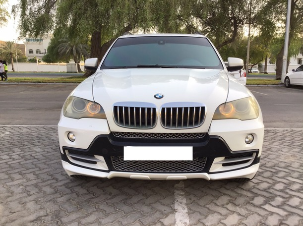 Used 2008 BMW X5 for sale in abudhabi