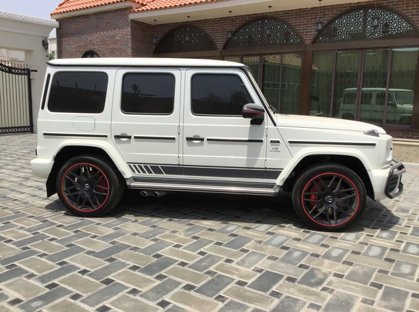 Used 2019 Mercedes G63 AMG for sale in abudhabi