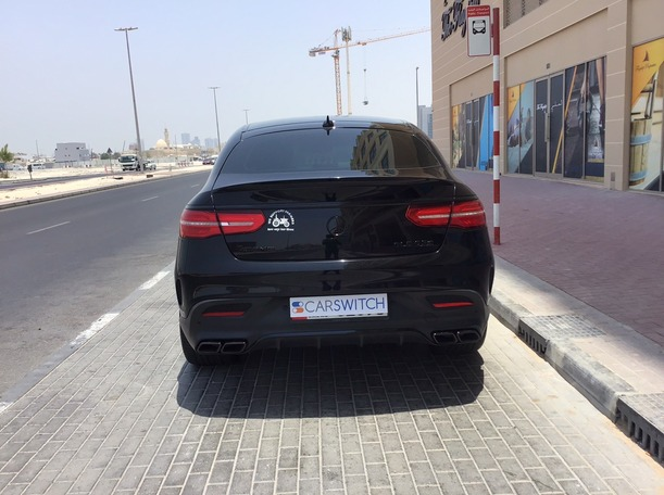 Used 2017 Mercedes GLE63 AMG for sale in abudhabi
