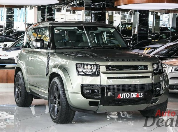 Used 2021 Land Rover Defender for sale in dubai