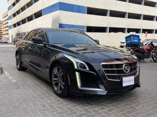 Used 2014 Cadillac CTS for sale in dubai