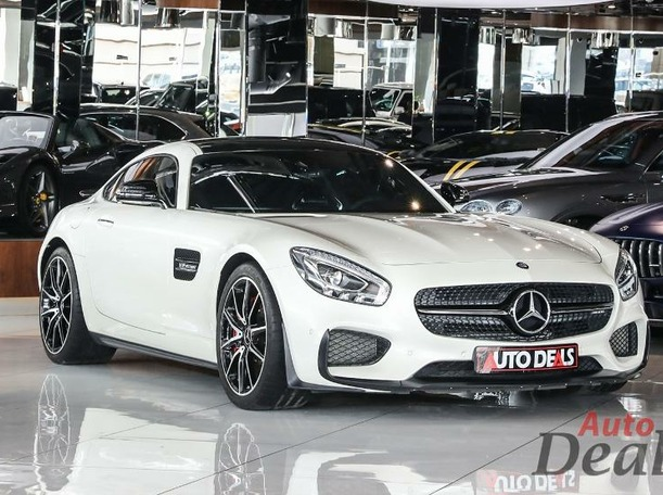 Used 2015 Mercedes AMG GT for sale in dubai