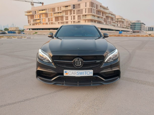 Used 2016 Mercedes C63 AMG for sale in dubai