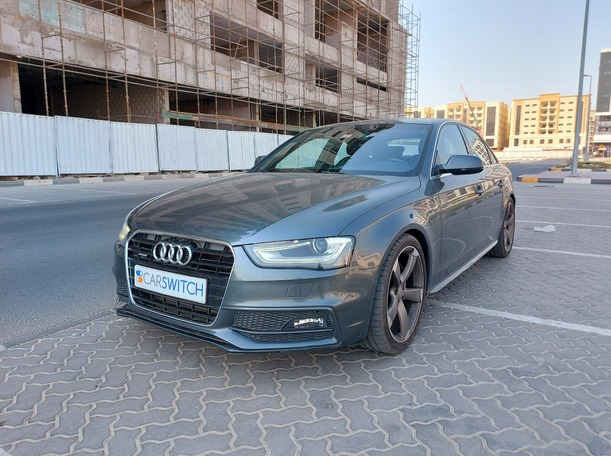 Used 2013 Audi A4 for sale in sharjah