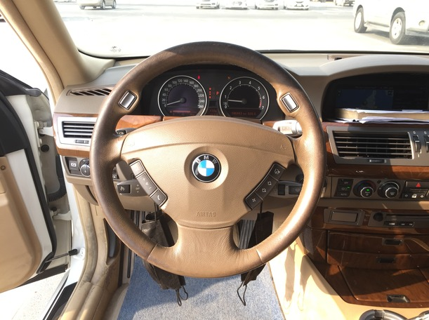 Used 2008 BMW 750 for sale in sharjah