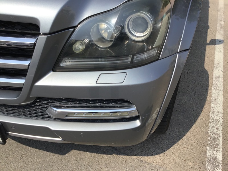 Used 2012 Mercedes GL500 for sale in abudhabi