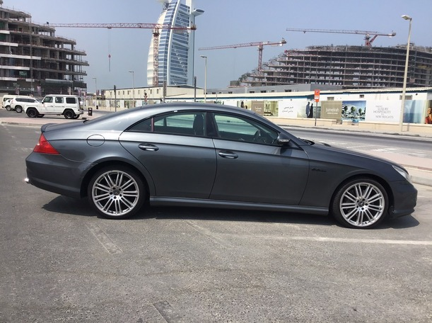 Used 2008 Mercedes CLS350 for sale in dubai