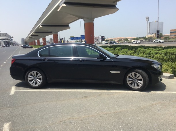 Used 2014 BMW 740 for sale in dubai