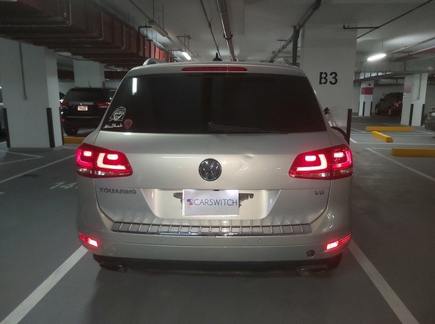Used 2014 Volkswagen Touareg for sale in abudhabi