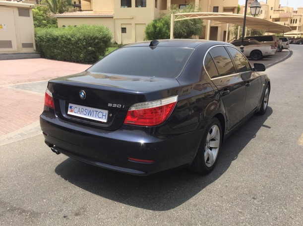 Used 2009 BMW 530 for sale in dubai