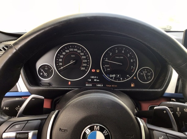 Used 2017 BMW 320 for sale in dubai