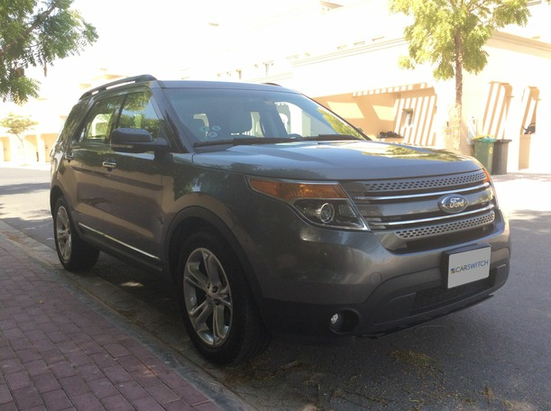 Used 2012 ford Explorer for sale in dubai