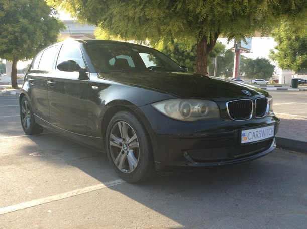 Used 2009 bmw 1 Series for sale in dubai