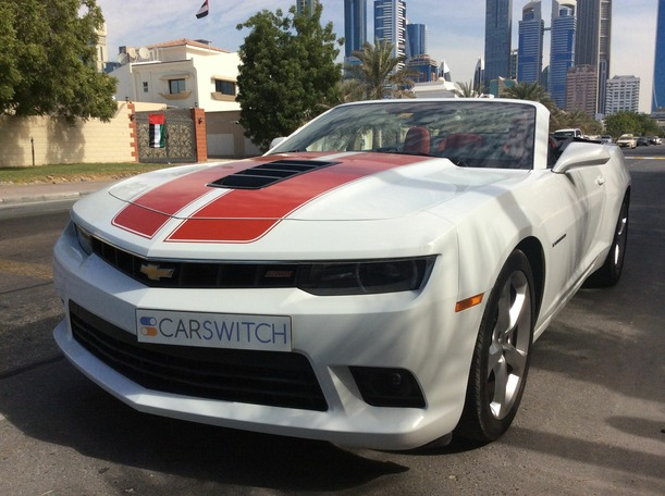 Used 2015 Chevrolet Camaro for sale in dubai
