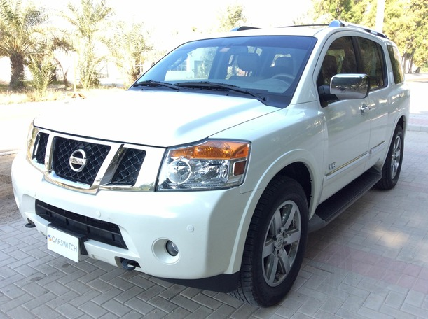 Used 2012 nissan Armada for sale in dubai