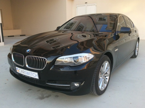 Used 2013 bmw 5 Series for sale in dubai