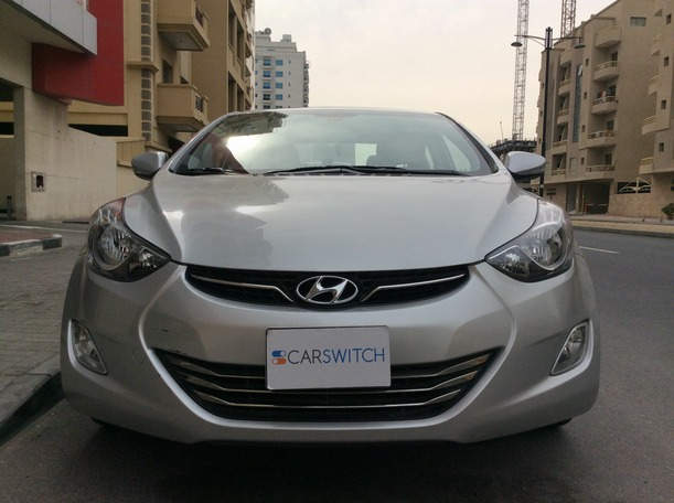 Used 2014 hyundai Elantra for sale in dubai