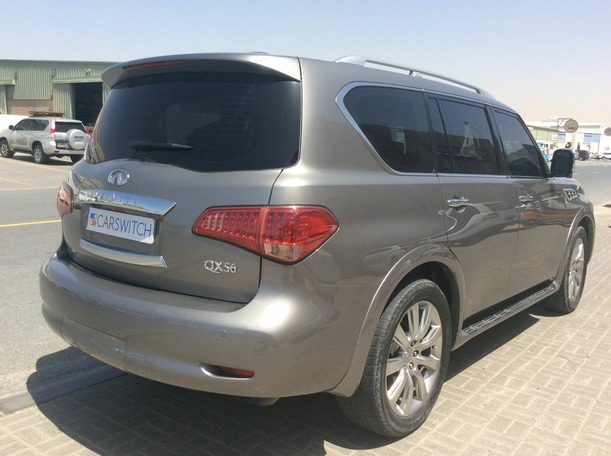 Used 2012 infiniti QX56 for sale in dubai