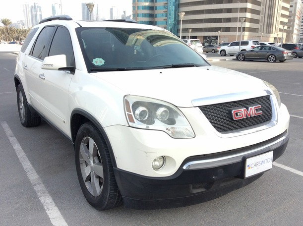 Used 2009 gmc Acadia for sale in sharjah