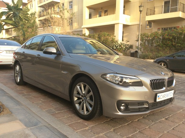 Used 2015 bmw 5 Series for sale in dubai