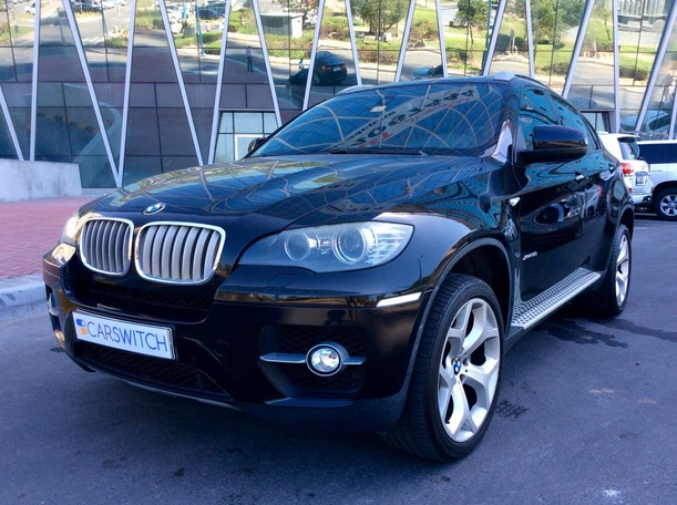 Used 2010 bmw X6 for sale in abudhabi