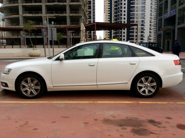 Used 2009 audi A6 for sale in dubai