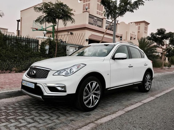 Used 2016 infiniti QX50 for sale in dubai