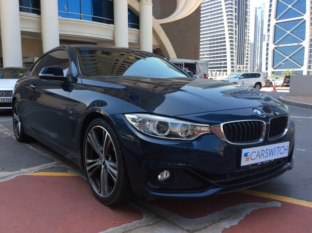 Used 2015 bmw 4 Series for sale in dubai