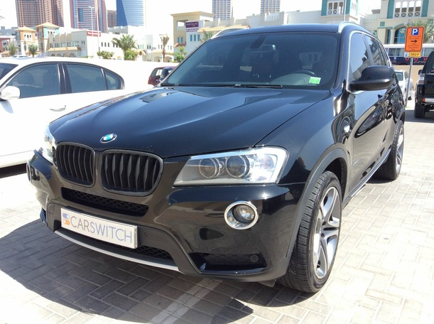 Used 2011 bmw X3 for sale in dubai