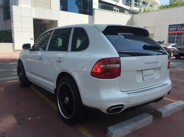 Used 2008 porsche Cayenne for sale in dubai